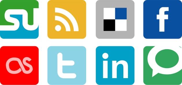 Social Media Icons 1