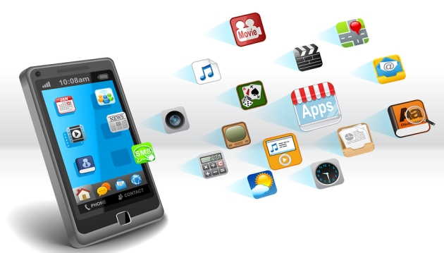 Smartphone with Mobile Apps